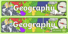 Australia - Geography Display Banner