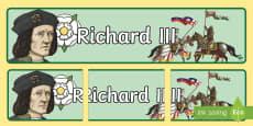 Richard III Display Banner