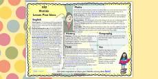 Lesson Plan Ideas KS2 to Support Teaching on Matilda