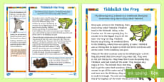 Tiddalick the Frog Story