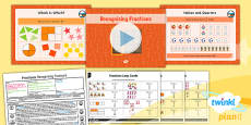 PlanIt Y3 Fractions Lesson Pack Recognise Fractions of a Set of Objects