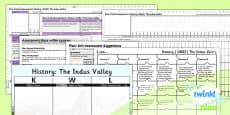 PlanIt - History UKS2 - The Indus Valley Civilisation Unit Assessment Pack