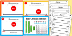 Year 4 Identify Represent Estimate Lesson 3 Understanding Place Value Teaching Pack
