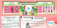Traditional Tales: Little Red Riding Hood: Story Writing 1 Y1 Lesson Pack