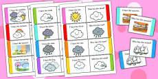 Weather Loop Cards
