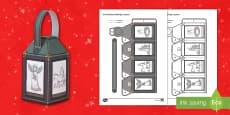 Christmas Nativity Mindfulness Lantern