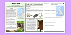 Skara Brae Differentiated Reading Comprehension Activity