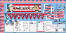 Presidents' Day Printable Pack