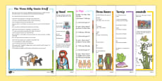 Traditional Tales Differentiated Reading Comprehension Activity Pack