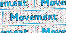 Movement Display Banner