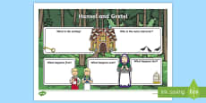 Hansel and Gretel Book Review Writing Frame
