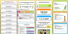 Foundation PE (Reception) - Games - The Olympics Unit Pack