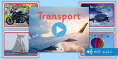 Transport Audio Flashcards