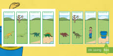 Editable Bookmarks to Support Teaching on Harry and the Bucketful of Dinosaurs