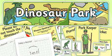 Dinosaur Park Role Play Pack