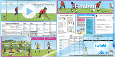 * NEW * PlanIt PE Year 4 Hockey Unit Pack