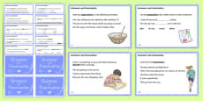 Year 4 Grammar and Punctuation Challenge Cards