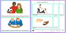KS3 How to be a Good Friend Cards