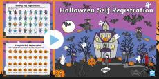 Halloween Self Reg PowerPoint