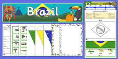 Brazil Lesson Plan Ideas and Resource Pack