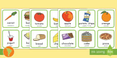 Healthy And Unhealthy Sorting Activity US English/Spanish (Latin)