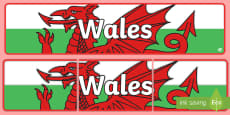 Wales Display Banner