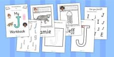 My 'J' Workbook