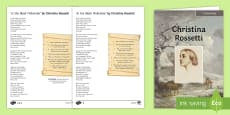 KS3/4 English Christmas Resources - In the Bleak Midwinter Differentiated Reading Comprehension Activity