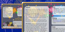 Bonfire Night Lesson Plan Ideas KS1