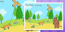 Australia - The Gruffalo's Journey Map