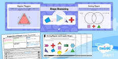 PlanIt Y5 Properties of Shapes Lesson Pack Regular and Irregular Polygons (1)