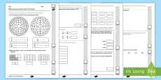 Year 4 Maths Assessment: Number Fractions Term 3