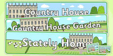 Stately Home Role Play Pack