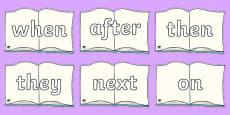 Sentence Starters On Books