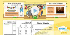 RE: Light and Dark: Advent at Christmas (Christianity)Year 2 Lesson Pack 1