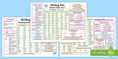 Year 2 Differentiated Writing Mats