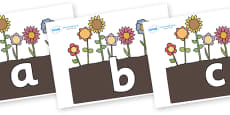 Phoneme Set on Flowers in Garden