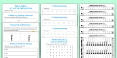 Year 2 Spring Term Spelling Lists and Resources Pack