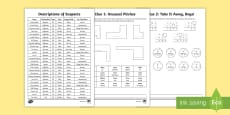 KS2 Football Maths Mystery Game