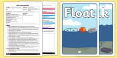 Floating Frog Leaves EYFS Adult Input Plan