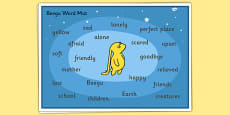 Word Mat to Support Teaching on Beegu