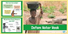 Oxfam Water Week PowerPoint