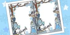 The Snow Queen Editable Notes