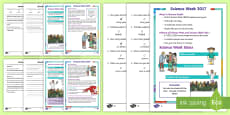 KS1 Science Week Differentiated Reading Comprehension Activity