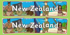 New Zealand Display Banner