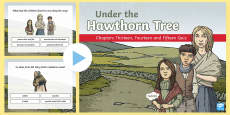 * NEW * Chapters Thirteen, Fourteen and Fifteen Quiz PowerPoint to Support Teaching on Under the Hawthorn Tree