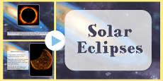 Solar Eclipse Information PowerPoint