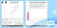 PlanIt - Science Year 5 - Forces Home Learning Tasks