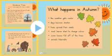 Australia - Autumn Information PowerPoint
