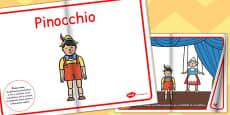 Pinocchio eBook EAL Romanian
